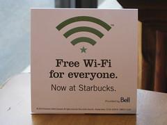 Starbucks Edmonton 9719 137 Ave free wifi
