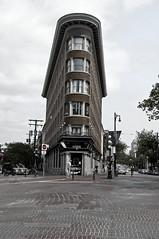 Gastown Flatiron Building (brentus69) Tags: street old canada building vancouver corner nikon bc britishcolumbia historic gastown flatironbuilding flatiron d300 nikond300 adobephotoshopcs5