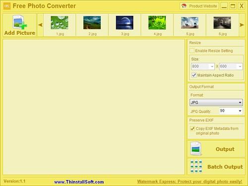 Free Photo Converter Portable