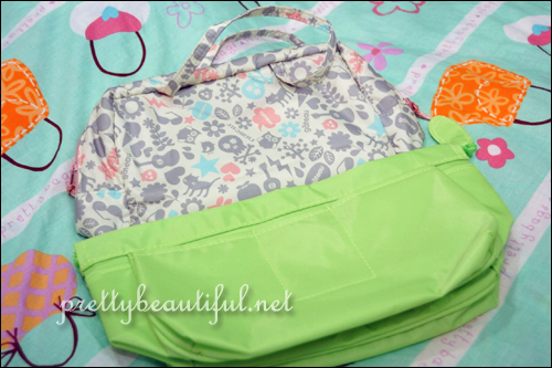 Guardian Bag Organizer vs Roo Avon De Papier