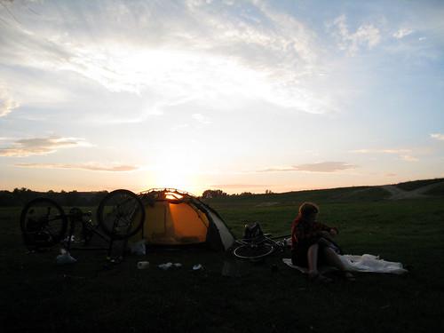 Campsite near Zatonje