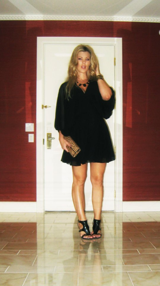 What I wore to dinner at Botero vegas