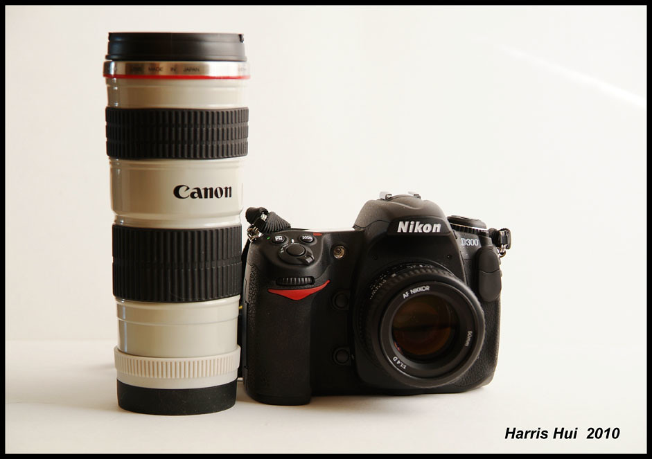 Happy Together - Nikon and Canon 6711e