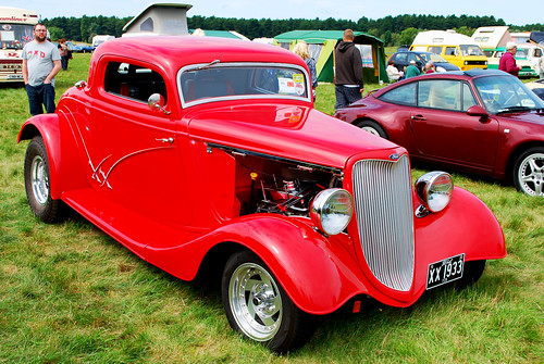 WOODVALE RALLY 2010 ~ HOT - ROD FORD.