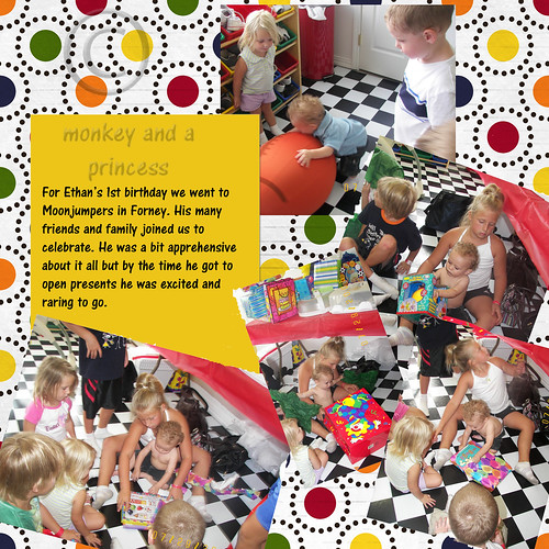 ethan first birthday page 2 with copyright