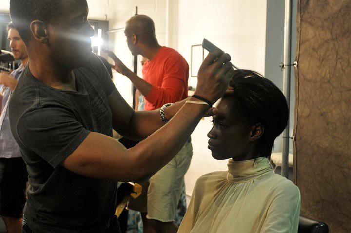 IMAN Cosmetics Brand Photo Shoot Day 1