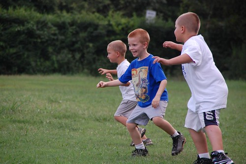 First Football Practice