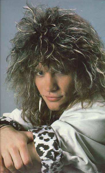 jon bon jovi frosted hair and tips