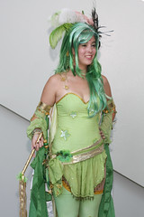 Summoner Rydia (Ardias) Tags: anime cosplay rydia finalfantasyiv summoner otakon2010