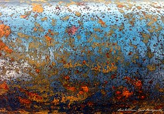 Rust and Steel (Wilamber) Tags: uk travel red england sky orange abstract beauty thames silver reflections river interesting rust colours steel exploring tube objects william lord coastline everyday exploration essex leighonsea chard explored mygearandmepremium lordwilliamchard wwwlordwilliamchardcouk