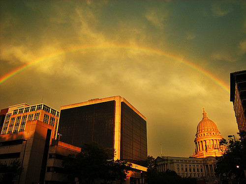 Dome of Gold at the End of the Rainbow