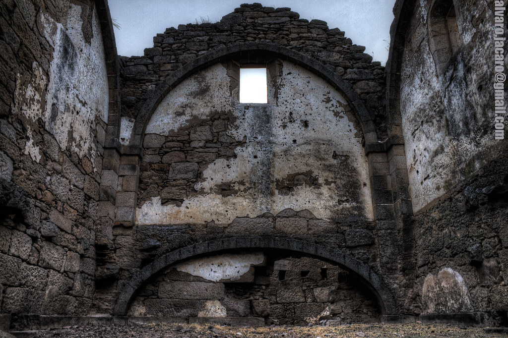 Convento Santa Marina la Seca HDR Ruinas