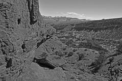 Incised in Stone (RkyMtnGrl) Tags: rock stone creek utah desert 2009 gooseneck capitolreefnationalpark gooseneckoverlook coth supershot theunforgettablepictures damniwishidtakenthat dragondaggerphoto yourwonderland