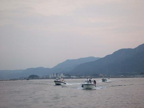 宮島水中花火大会 2010 画像3