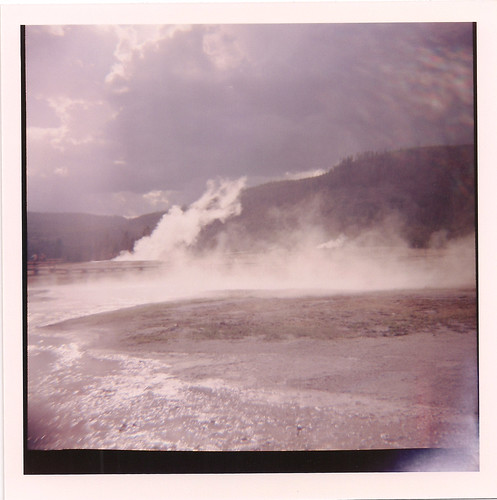 Diana Camera - 120 film - Yellowstone