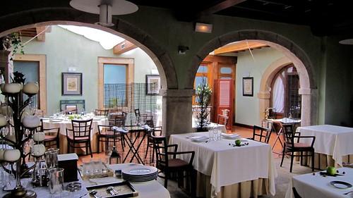 Salones - Restaurante Cenador de Amós - Villaverde de Pontones - Cantabria