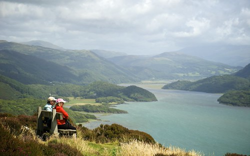Enjoying The Beautiful Mawddach