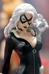 Black Cat Premium Format Statue by SIDESHOW COLLECTIBLES (thedot_ru) Tags: california girls woman usa black girl statue cat blackcat geotagged toys san comic sandiego diego format canon5d marvel comiccon premium con collectibles cci sideshow 2010 sideshowcollectibles polystone premiumformat scpodium2010 scpodium22