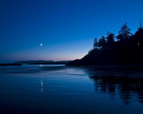 Moon over Mackenzie Beach 2