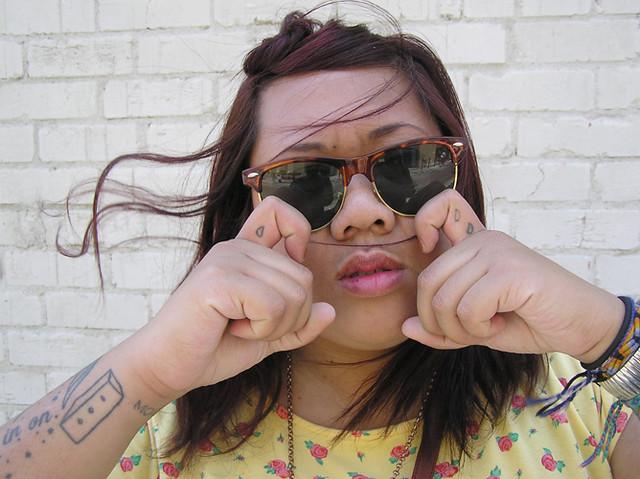Clubmaster Sunglasses (#002).