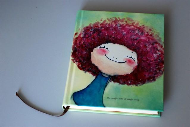 很漂亮的日记本