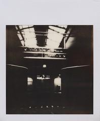 gare cff (sdzn) Tags: polaroid handmade pinhole lausanne px100 cff stnop sdzn