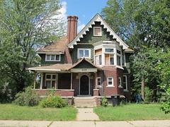 205 Alger, Detroit (southofbloor) Tags: house architecture crafts detroit arts e alger williamenhunter kastler hunterjoseph hunterkastler