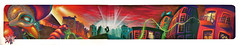 BREAKONE X TAIL DROP (BREakONE) Tags: de effects graffiti store montana break grafiti character tail drop graffity porto skate colored characters cans explode 2010 galo barcelos cfs galos breakone gsby debarcelos