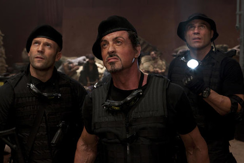 Sylvester Stallone as Barney Ross in The Expendables (2010)