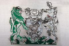 LRC Crest (Little Boffin (PeterEdin)) Tags: horse slr metal canon logo eos rebel coatofarms lion crest badge council crown shield dslr canoneos singlelensreflex 400d rebelxti canoneos400d canonrebelxti canon400d digitalsinglelensreflex lothianregionalcouncil