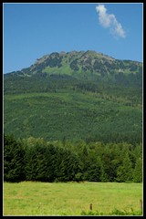 Sauk Mountain seen from Highway 20
