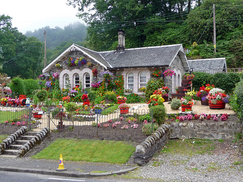Colourful Cottage at Luss