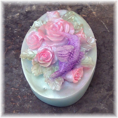 Hummingbird Soap by soapsmith