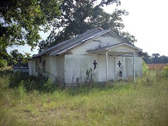 Bladen County abandoned church (Gerry Dincher) Tags: august142010 northcarolina church nchighway20 bladencounty abandoned gerrydincher northcarolinahighway20