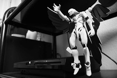 Mass Production Unit (peer_inward) Tags: white 3 black monochrome three eva neon slim sony production mass genesis playstation seele unit evangelion ps3 revoltech