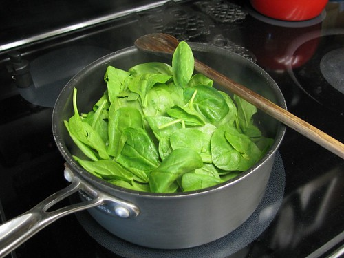 spinach in