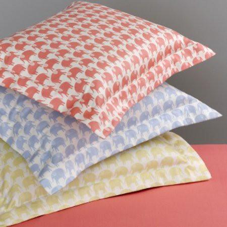 q collection jr elephan parade boudoir pillow