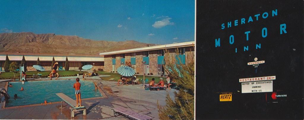Sheraton-El Paso Motor Inn - El Paso, Texas