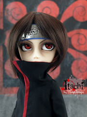 Itachi_Sesion03_05 (Sheryl Designs) Tags: new blue boy red black anime color eye boys face japan hair design carved outfit eyes doll acrylic dolls eyelashes dress body forum group manga foro lips chips wig chip modified designs groove pullip 16 custom naruto tae pullips eyebrows bodies mechanism sheryl sculpt tachi junplanning taeyang eyemech taeyangs obisu sheryldesigns pullipes forodepullips akatsukiboys