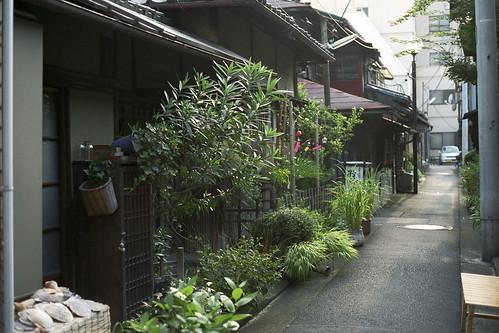 Nostalgic alley