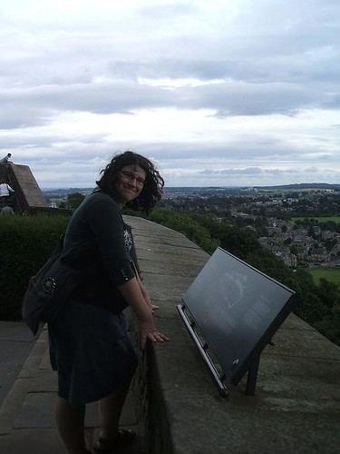Ellen at Stirling Castle
