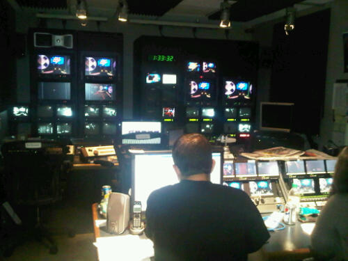 The Control Room for Howard TV