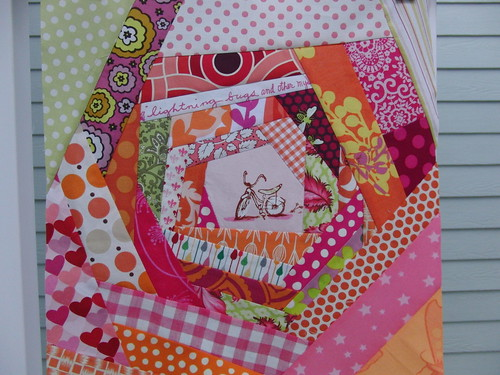 3x6 Bee Block for janesfabrics