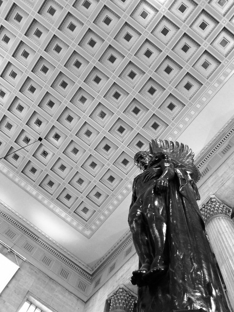 Looking Up in 30th Street Station