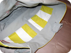 JAF bag interior