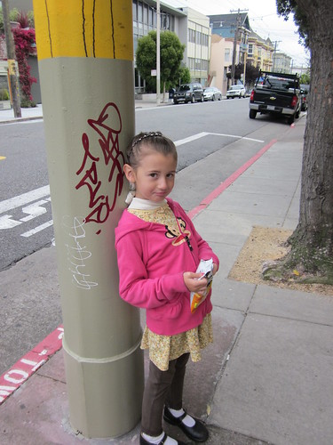 Julia in San Francisco, Waiting for the Muni