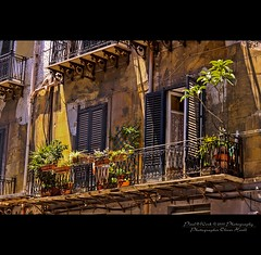 . ..balconied.. .  (Sicilian/Palermo) (oliver's | photography) Tags: italy photoshop canon eos flickr raw adobephotoshop image  adobe palermo 2010 copyrighted pixelwork paololivornosfriends oliverhoell pixelwork2010photography allphotoscopyrighted