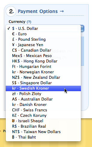 More Currencies!