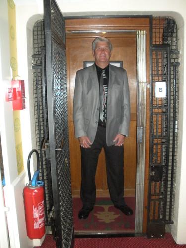 Creaky elevator and John