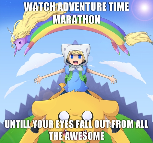 Adventure Time Marathon Fan Art